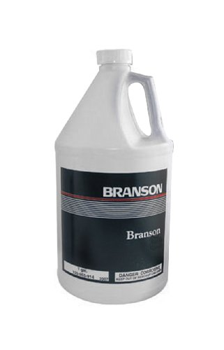 Branson 000-955-516 Oxide Remover Solution for Ultrasonic Cleaners, 1 gallon Capacity (Case of 4) by Branson Ultrasonics