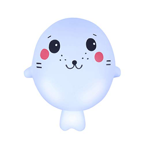 Gbell  Cute Pink Pig Squeeze Toy for Kids, Squishies Adorable Animals Slow Rising Cream Squeeze Scented Stress Relief Toys Best Gift for Kids Boys Girls -
