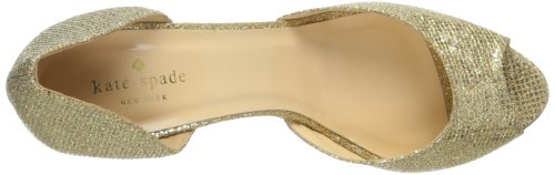 Kate York Women's Gold Sage New Spade D'Orsay Pump pgZqw6p7xr