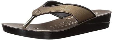 Paragon Women's Brown Fashion Slipper-6 UK/India (39/40 EU)(PU7710L)
