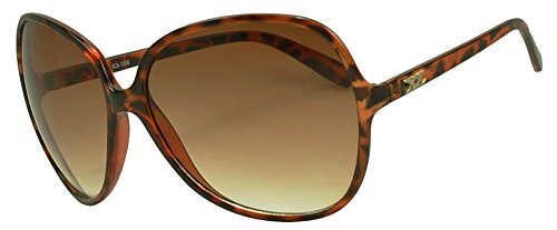 Sunglass Stop - Super Oversized Round Huge Vintage Womens Sunglasses (Tortoise - Tortoise Vintage Round Sunglasses Shell
