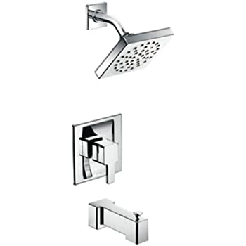 Moen TS2713 90 Degree PosiTemp Tub And Shower Trim Kit Without Valve, Chrome