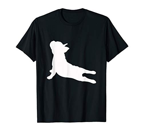 (French Bulldog Yoga T-Shirt)