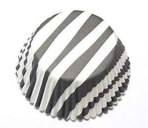 Black White Zebra Cupcake Liners Baking Cups Bulk 1000 Count