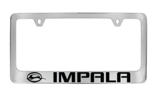 Chevy Impala Chrome License Plate Frame