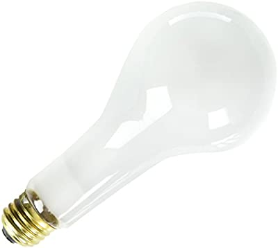 Bulbrite 300PS25 130V 300-Watt Incandescent PS25 Long Life General Service Bulb, Frost