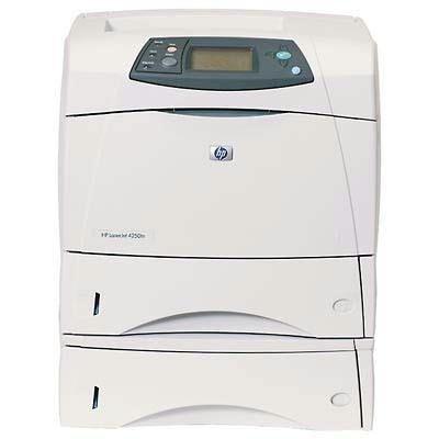 Hewlett Packard LaserJet 4250TN Printer 45 PPM, Networking, Additional 500 Sheet Input Tray & 80 Mb RAM - Additional 500 Sheet Tray