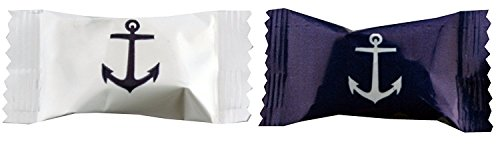 Promotional Candy (Party Sweets Anchors Buttermints by Hospitality Mints, Appx 300 mints, 7-Ounce Bags (Pack of 6))