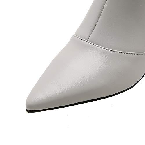 Gris Abm13805 Sandales Balamasa Femme Compensées BF6nwq