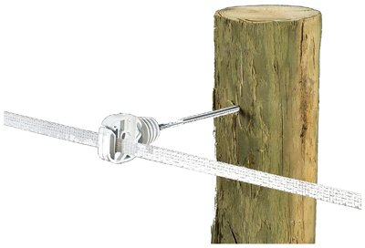 Dare Products 2947-10 Ring Insulator 6-in. Extender for Wood Posts, White, 10-Pk. - Quantity -