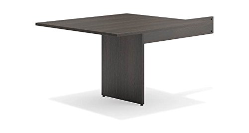 HON Modular Conference Table, Slab Base, Rectangle End, 48