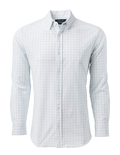 - Mizzen + Main Button Down Shirts for Men | Slim Fit Stretch Dress Shirt | Moisture Wicking | Non-Iron