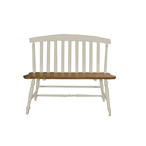 Slat Bench Back (Liberty Furniture Industries 841-C9000B Al Fresco III Slat Back Bench, 42