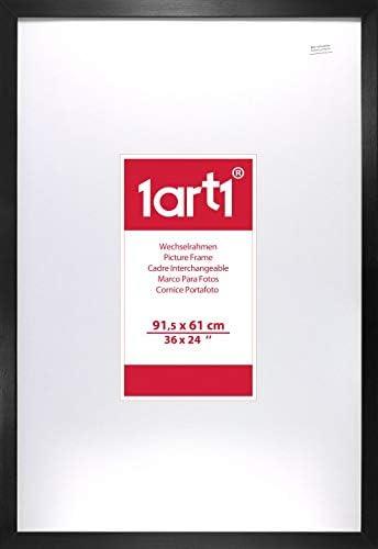 1art1 La Reine des Neiges Poster et Cadre 91 x 61cm MDF - Olaf