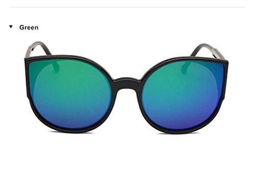 Cat Eye Retro Sunglasses Mirror Coating Sunglasses Cateyes Sunglasses (Sniper Mirror Goggles)
