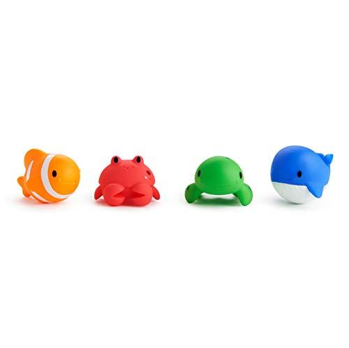 Buy Discount Munchkin Ocean Squirts Bath Toys, 4 Pack