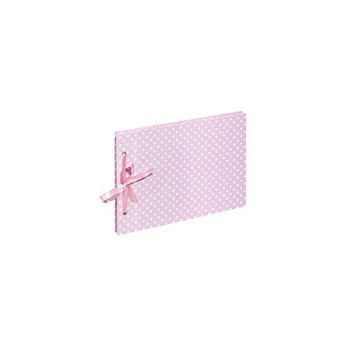 Pagna 12217-15 Screw Album 240 x 170 mm Vichy Baby 40S, Pink