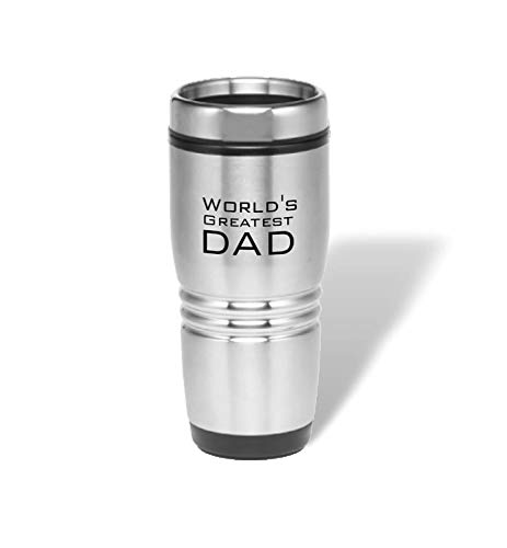 PlusTactical Expression Stainless Steel Tumbler (World's Greatest Dad)