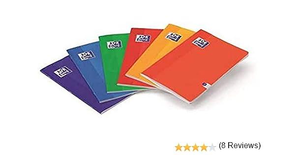 LIBRETA A4 48H PAUTA 3.5MM OXFORD SCHOOL: Amazon.es: Oficina y papelería