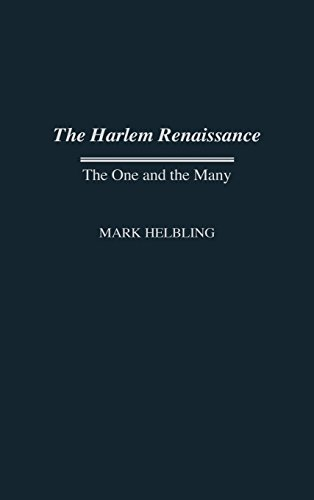 Search : The Harlem Renaissance: The One and the Many (Contributions in Afro-American and African Studies)