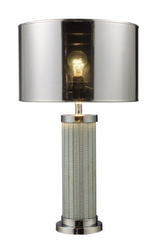 Dimond D1596 Mont Alto Table Lamp, Chrome and Mirror by Dimond Lighting