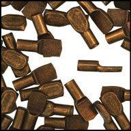 WIDGETCO 5mm Antique Brass Shelf Pins(QTY 5,000)