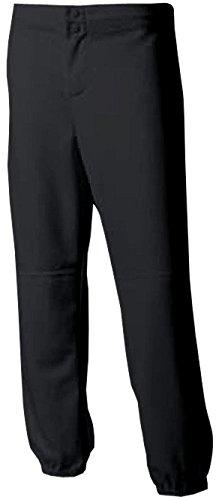 A4 NG6166 Youth Softball Pant - Black, Small