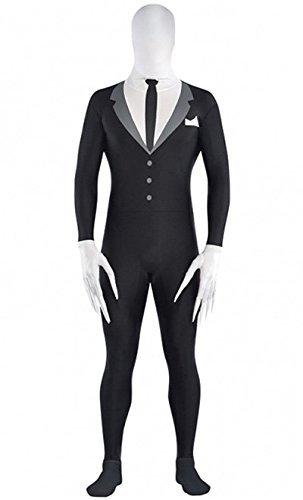 Amscan International Teens Slender Man Party Suit Costume (Medium) by Amscan International ()