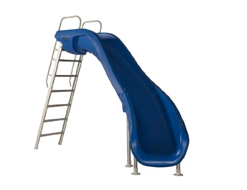 S.R. Smith 610-209-5813 Rogue2 Pool Slide - Right Curve - Blue