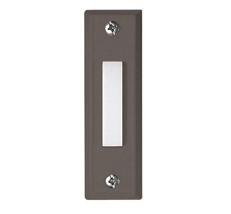 Craftmade Lighting BS6-BZ Decorative Push Button Door Bell Bronze Plastic Finish  sc 1 st  Amazon.com & Craftmade Lighting BS6-BZ Decorative Push Button Door Bell Bronze ...