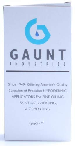 Gaunt Industries HYPO-25 (2 PACK)- Acrylic Welding Dispensers - Precision  Epoxy & Solvent Cement Applicators - 2 Ounce Clear Plastic Bottles with 23