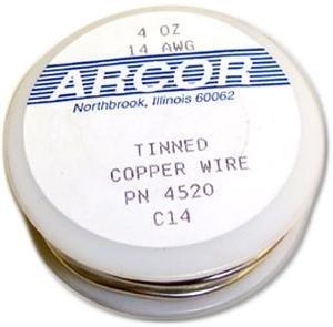 Pre Wire Tinned - 14 Ga Pre-Tinned Wire - 4 Oz