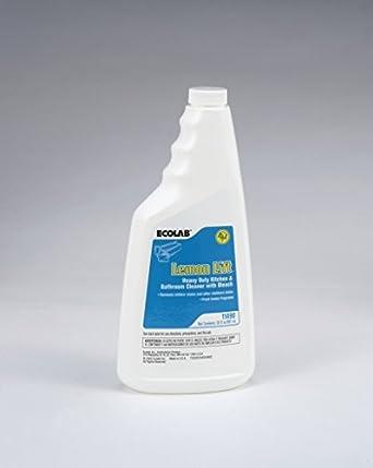 Ecolab Lemon Lift Heavy Duty Kitchen Bathroom Cleaner