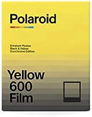 Polaroid 600 Black & Yellow Film - Duochrome Edition (8 Photos) (6022)