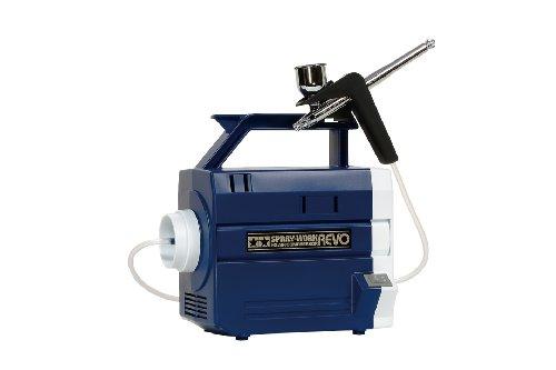 - Spray-Work HG Air Compressor Revo II Blue w/ HG Airbrush