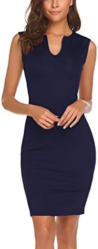 Naggoo Womens Business Sleeveless Bodycon product image