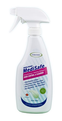 Incontinence Medisafe & stomie Odeur de contrôle 17 oz spray