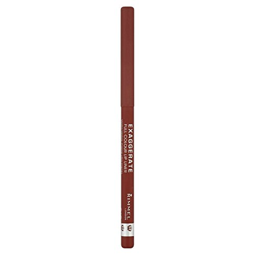 Rimmel Exaggerate Lip Liner - Addiction - Pack of 2