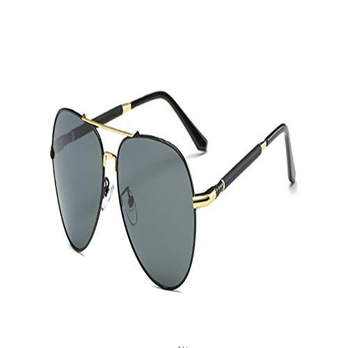 ZYZHjy De Té Oro y Rojo Polarizadas ceniza De Sol negro oro Gafas Hombres De 8Ar6wxqE8X