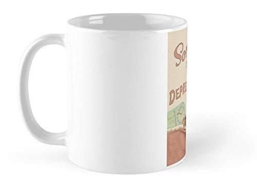 - Depression Time Mug - 11oz Mug - Made from Ceramic - Best gift for family friends