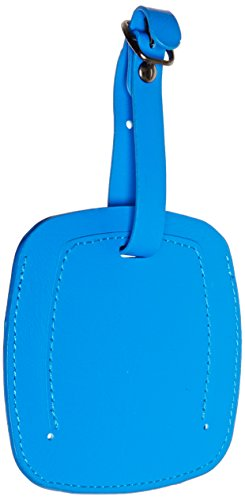 Swiss Gear Jumbo Luggage Tag Blue - Easy To Spot Extra Large
