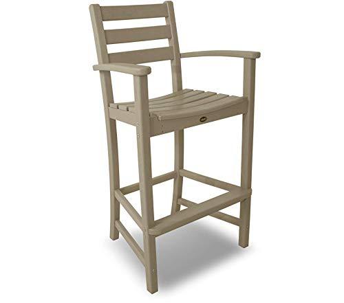 Trеx Оutdооr Furniturе By Pоlywооd Patio Outdoor Garden Premium Monterey Bay Bar Sand Castle Arm Chair
