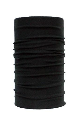 Noise NOIHWP-142 Polyester Bandana, Free Size (Black)