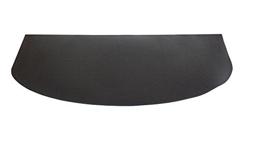 Gavemo TAPETIN  Teppich für Öfen und Kamine realiziert mit Ökologischem Leder Dunkelbraun, Schutz für Ofen und Kamin.