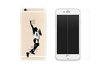 iphone 8 plus coque transparente avec verre trempre