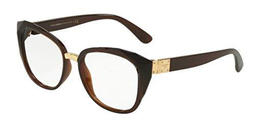 Dolce & Gabbana Dg 5041 - Óculos De Grau 3159 Marrom Translú
