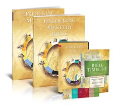 Unlocking the Mystery of the Bible, Starter Pack 4-DVD Set & Study Guide by ASCENSION PRESS