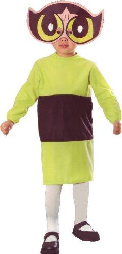 The Powerpuff Girls Buttercup Power Puff Costume Child Size T