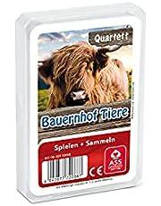ASS Altenburger 22572088 – kvartett – bondgårdsdjur, kortspel