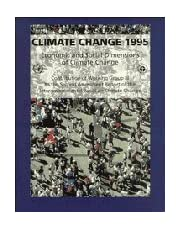 Climate Change 1995: Economic and Social Dimensions of Climate Change: Contribution of Working Group III to the Second Assessment Report of the Intergovernmental Panel on Climate Change